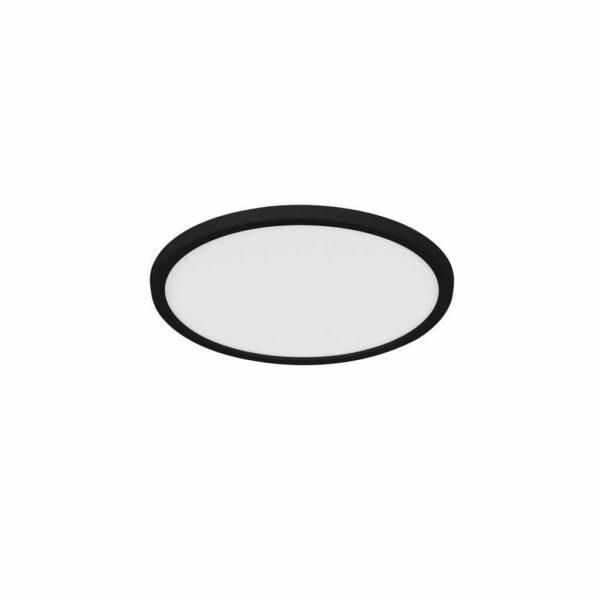Nordlux Deckenleuchte Oja 29 IP54 3000/4000 K Bad Schwarz