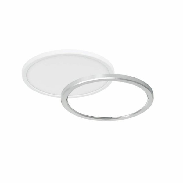 Nordlux Deckenleuchte Oja 29 IP54 3000/4000 K Bad Chrom-Ring