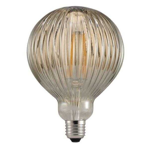 Nordlux LED-Filament-Leuchtmittel Avra Stripes 2 W E27 Rauch Globe