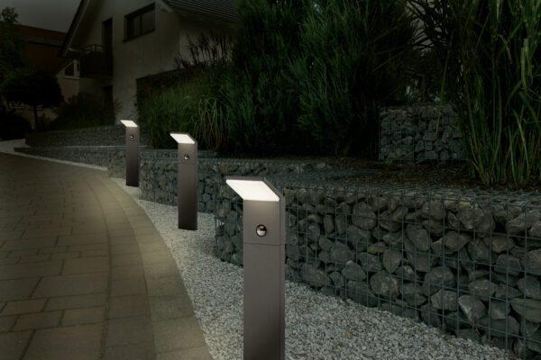 Trio Pollerleuchte Pearl Sensor