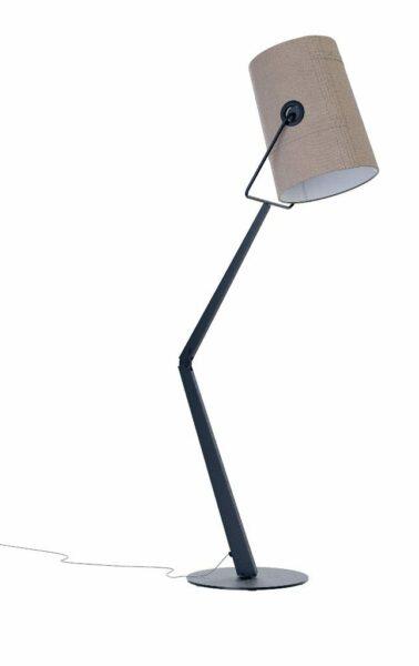 Diesel Stehleuchte Fork Anthrazit/Grau