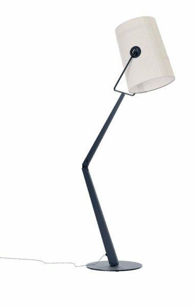 Diesel Stehleuchte Fork Anthrazit/Ivory
