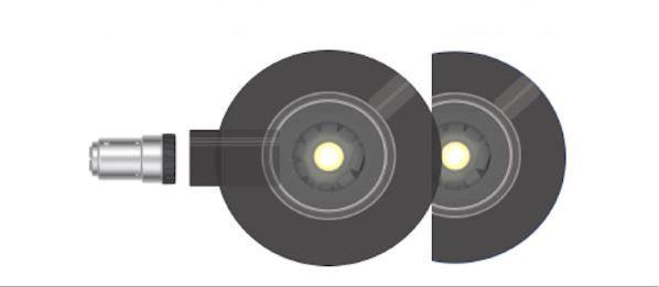 LEDES ClipLED-Modul für Occhio Puro A_D_E