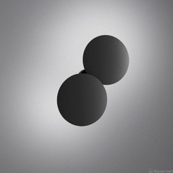 Lodes Außenleuchte Puzzle Round Double Schwarz