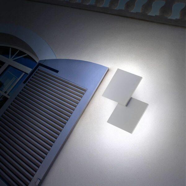 Lodes Wand- und Deckenleuchte Puzzle Square Double Outdoor - Lampen & Leuchten