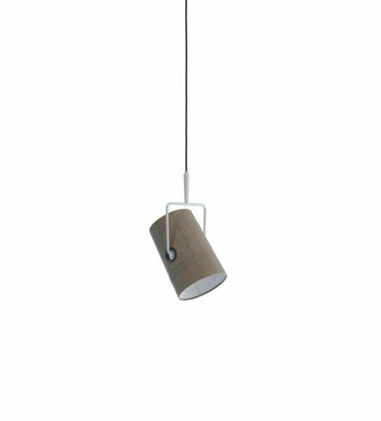 Diesel Pendelleuchte Fork Small Ivory/Grau