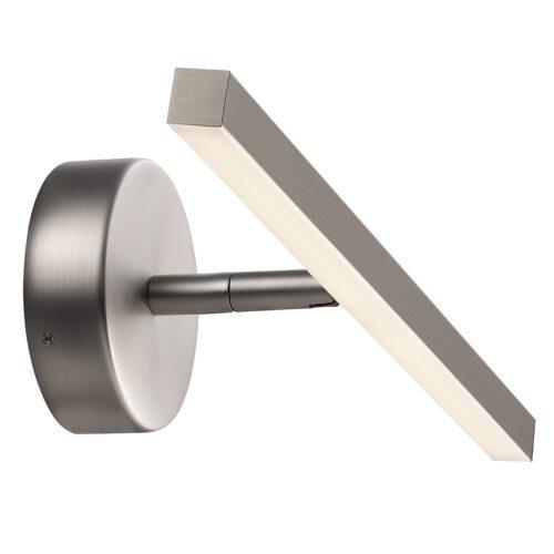 Nordlux Badezimmerleuchte IP S13 gebürsteter Stahl