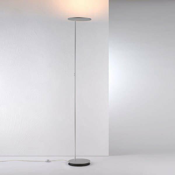 Bopp Deckenfluter Share mit Leselicht Aluminium eloxiert
