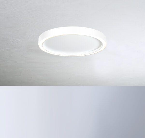 Bopp Deckenleuchte Aura mittel Weiß/Weiß