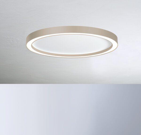 Bopp Deckenleuchte Aura groß Weiß/Taupe