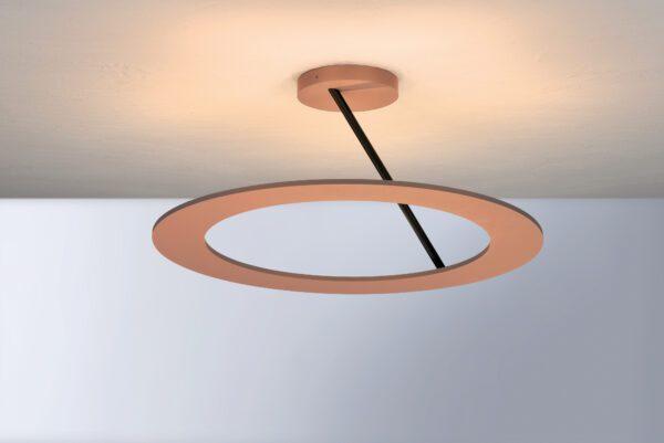 Bopp Deckenleuchte Stella Medium Schwarz/Rosé eloxiert