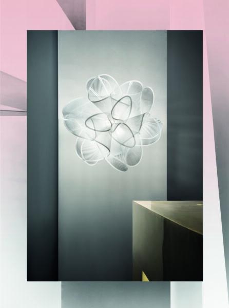 Slamp Wand- und Deckenleuchte La Belle Étoile Weiß Milieu