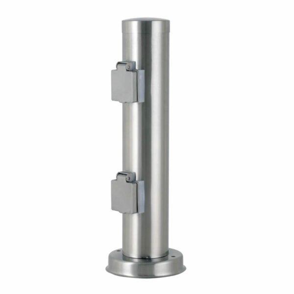 Nordlux Steckdosensäule Außenbereich Power Socket 2U RS