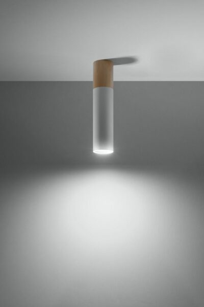 Sollux Lighting Deckenleuchte Pablo Weiß