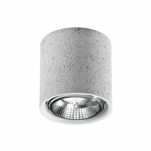 Sollux Lighting Deckenleuchte Cullo Beton