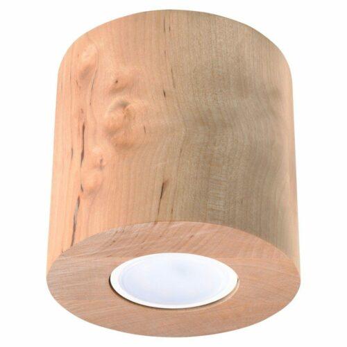 Sollux Lighting Deckenleuchte Orbis Holz